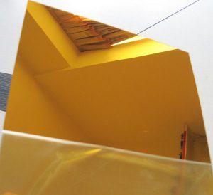 ورق استیل طلایی